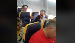 """Negra fea"": mujer recibe insultos en un vuelo de Ryanair…"