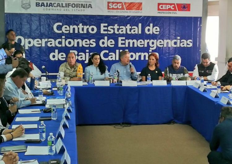 """Declara Segob emergencia en Mexicali y Ensenada por """"Rosa"""""""