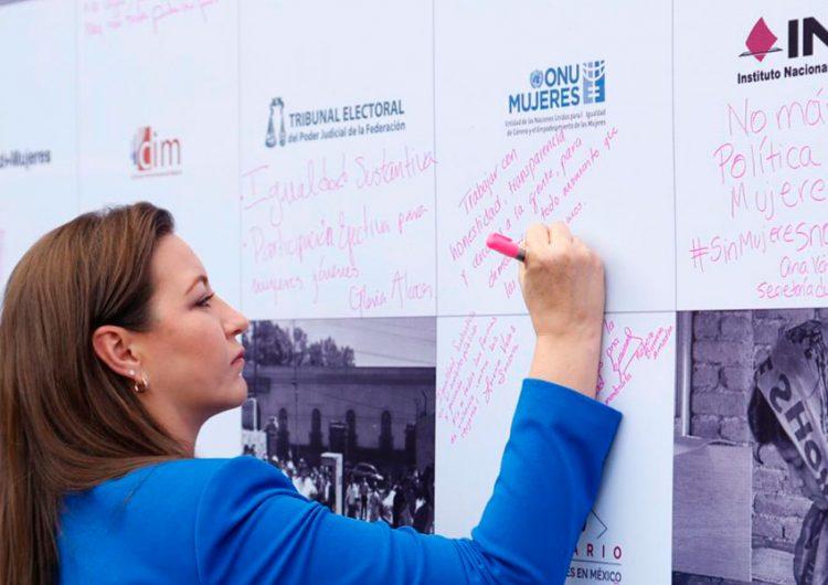 Es momento de impulsar la participación de la mujer en la política: MEAH