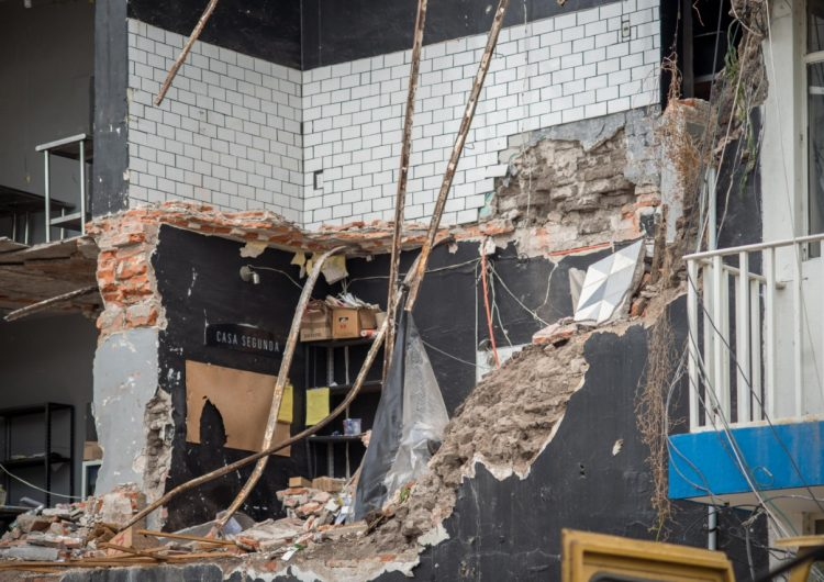 Falta de mantenimiento derivó a derrumbe de Casa Segunda: peritaje
