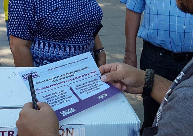 Registra Aguascalientes 2490 votos en Consulta Nacional por el NAICM