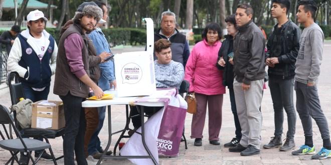En Hidalgo, votó 75% por Santa Lucía para el Nuevo Aeropuerto