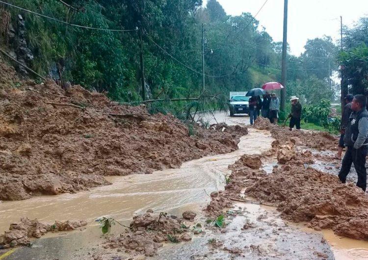 Tony Gali pide a ediles de la Sierra Norte estar atentos ante lluvias