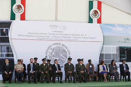 """Tony Gali y Salvador Cienfuegos inauguran primaria """"Vicente Suárez Ferrer"""""""