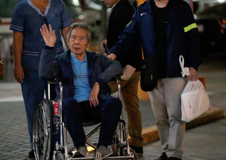 Juez anula indulto a Fujimori y pide la captura del expresidente peruano