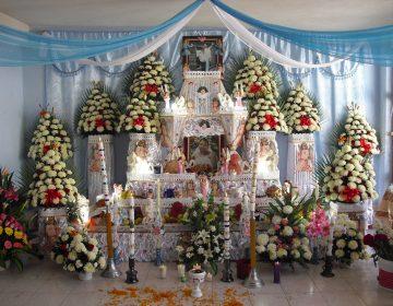 Esperan 80 mil turistas en Huaquechula, instalarán 32 altares monumentales