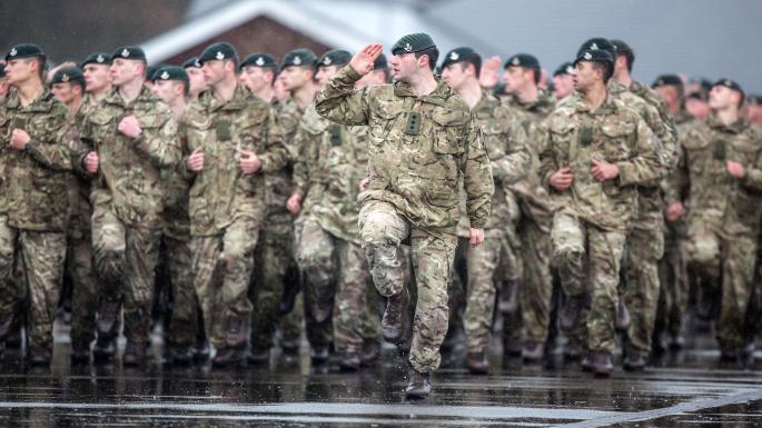 Por primera vez las Fuerzas Armadas británicas aceptaran mujeres en sus unidades