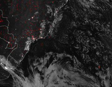 """¿Fuego en el océano? La NASA detecta """"anomalía térmica"""" en medio del Atlántico"""