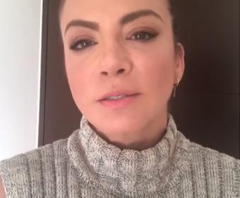 Silvia Navarro denuncia asalto a su equipo de producción rumbo a Irapuato