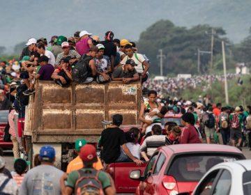 Un mes caminando y cruzando México; la caravana migrante sigue su recorrido hacia EE. UU.