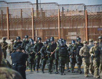 Así blinda EE. UU. su frontera con México ante la llegada de la caravana
