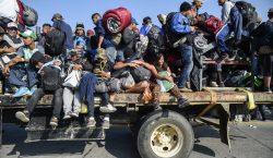 Luego de caminar por 30 días, la primera caravana migrante…