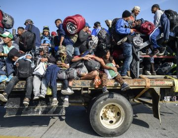 Luego de caminar por 30 días, la primera caravana migrante llega a Tijuana