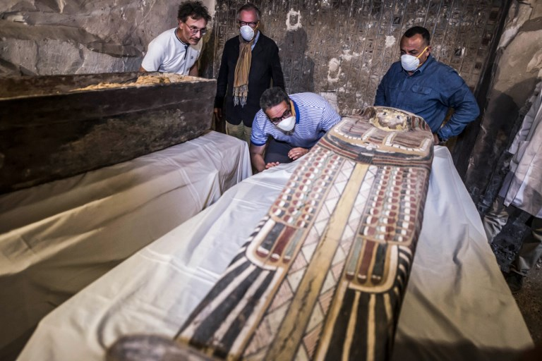 Egipto muestra su increíble hallazgo arqueológico a orillas del Nilo