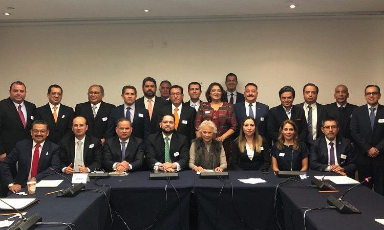 Se reúne fiscal anticorrupción de Aguascalientes con próxima secretaria de Gobernación con AMLO