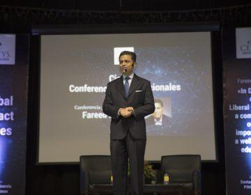 """""""Si no sabes escribir, no sabes pensar"""": Fareed Zakaria en CETYS"""