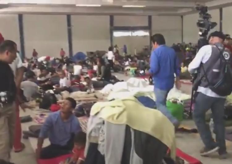 Caravana Migrante cruza por Guanajuato