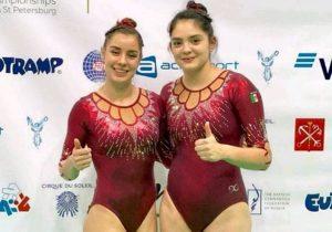 Mexicanas ganan bronce en Campeonato Mundial de Gimnasia de Trampolín