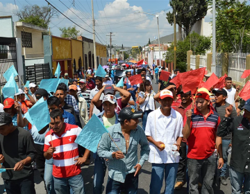 Migrantes centroamericanos llegan a San Luis Potosí