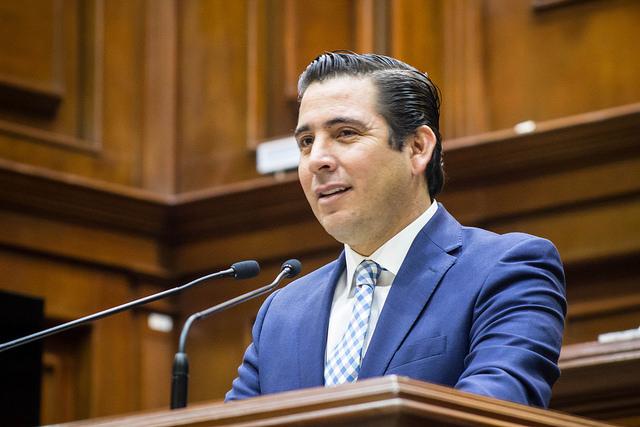 Dejaría Gustavo Báez diputación a inicios de 2019 por dirigencia partidista