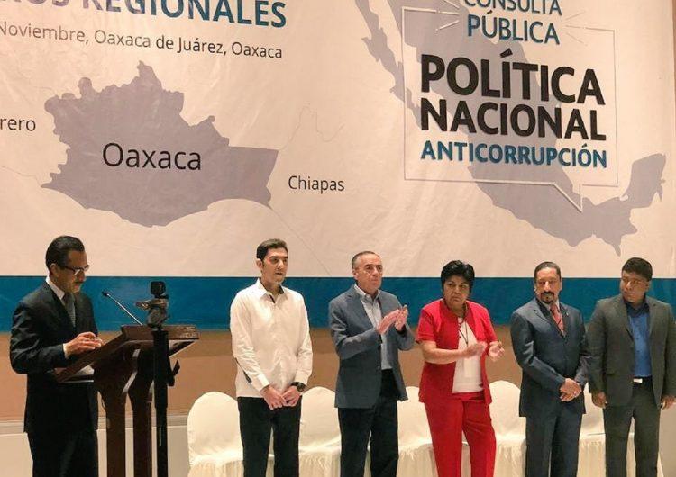 Desinterés de oaxaqueños en proponer políticas anticorrupción