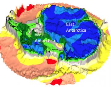 Agencia Espacial descubre continentes perdidos en la Antártida