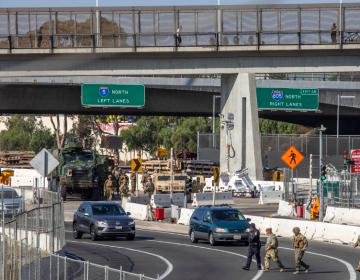 Llegan militares a frontera