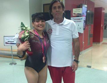 Alexa Moreno, la primera mexicana en ganar una medalla para México en Mundial de Gimnasia