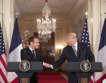 Trump ataca al francés Macron por querer formar un ejército europeo