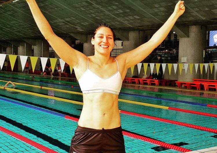 Liliana Ibáñez, la guanajuatense que hizo historia nadando en Japón