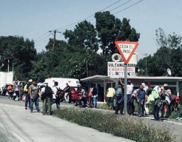 Llegan migrantes a Tepeji del Río