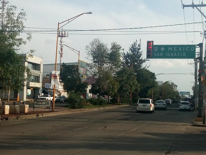 Inicia construcción de paso a desnivel de Camino a San Ignacio este sábado