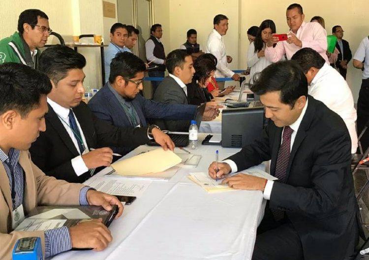 Diputados se preparan para asumir LXIV Legislatura local, cumplen con registro
