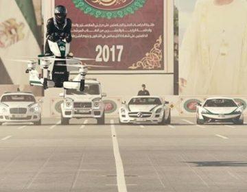 La policía empieza a entrenarse en motocicletas voladoras en Dubái; podrían lanzar una flotilla para 2020