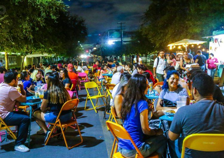 """Vecinos del Tec se reúnen para """"Vivir la Calle"""""""