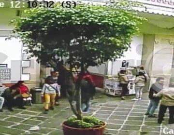Difunden video del día en que se extravió Olayet