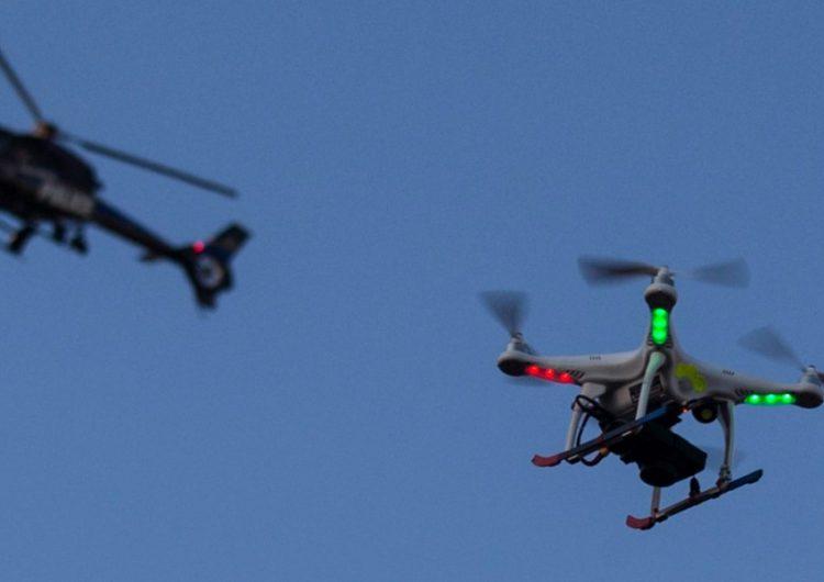 Usarán drones para patrullar la capital poblana