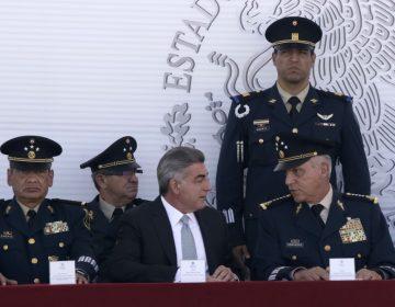 Gali y Cienfuegos inauguran segunda etapa de la Industria Militar en Puebla