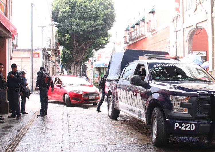 Déficit de policías en Puebla capital