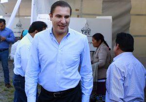 Moreno Valle señala que no intervendrá en los conflictos postelectorales