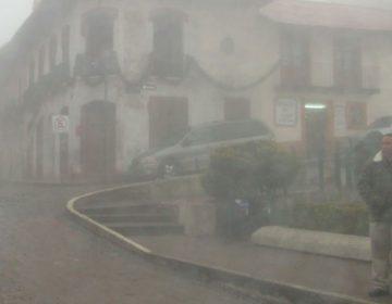 Aqueja frio a la Sierra Norte de Puebla