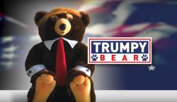 """Qué es el """"Trumpy Bear"""", el osito de peluche inspirado…"""