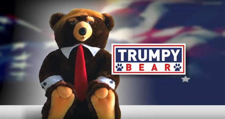 """Qué es el """"Trumpy Bear"""", el osito de peluche inspirado en un iracundo mandatario"""