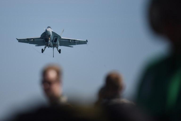 Chocaron en el aire dos aviones de los Marines de Estados Unidos