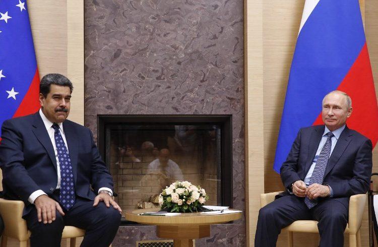 Maduro y Putin cierran negocios: Rusia invertirá 6,000 millones de dólares en Venezuela