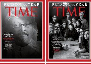 """Un reportero asesinado y otros periodistas son la """"Persona del Año"""", según el Time"""