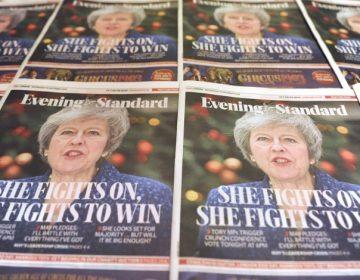 Theresa May obtiene votación favorable para seguir siendo primera ministra de Reino Unido
