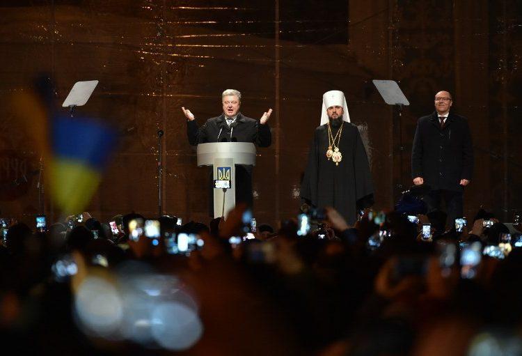 Crean en Ucrania Iglesia ortodoxa independiente de Rusia
