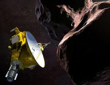 Una sonda de la NASA se prepara para un sobrevuelo histórico en Año Nuevo