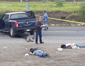 Enfrentamiento entre criminales en Esperanza